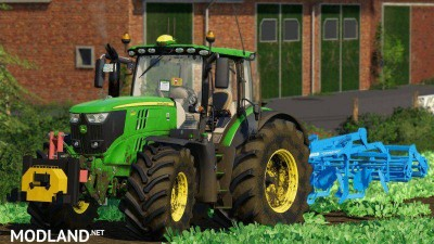 John Deere 6R Pack by 6195rpower official, 1 photo
