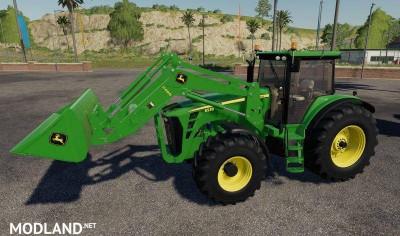 John Deere 8130-8530 + loader