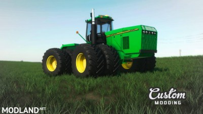 John Deere 89xx 4WD Update v 1.2, 1 photo