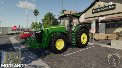 John Deere 8r chip Engine v 1.0