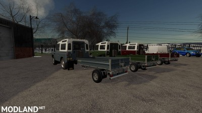 Land Rover Trailer v 1.0, 1 photo