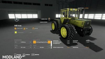 MB Trac Pack 1300 – 1800BB v 1.5, 3 photo