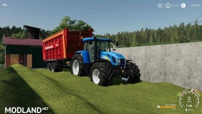 New Holland 7550 bygoli v 2.0