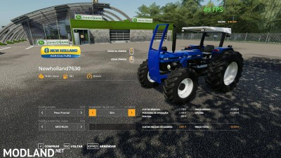 New HOLLAND 7630 v 1.0