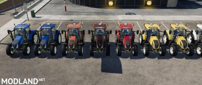 New Holland T5 By Gamling v 1.0, 2 photo