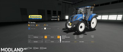 New Holland T5 By Gamling v 1.0, 8 photo