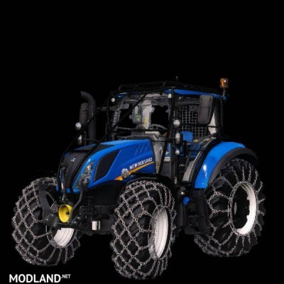 New holland T5 with forestry upgrade v 1.0, 2 photo