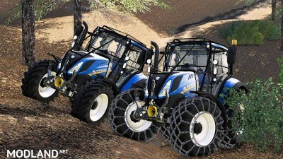 New holland T5 with forestry upgrade v 1.0, 1 photo
