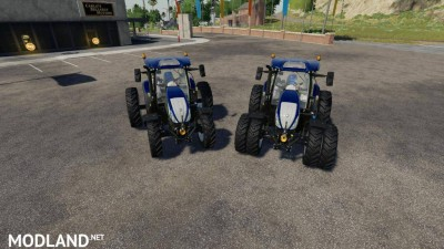 New Holland T6 Blue Power v 1.0.4, 1 photo