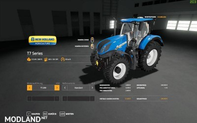 New Holland T7 series v 1.0, 10 photo