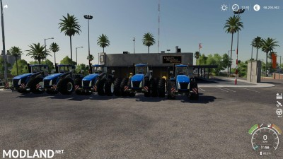 New Holland T9 Extended hud v 1.1