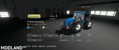 New Holland T9 Series By Gamling v 1.0