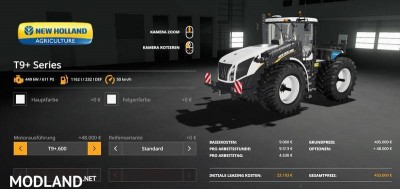 New Holland T9+ Series v 1.0, 3 photo
