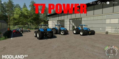 NewHollande T7 Power v 1.0, 1 photo