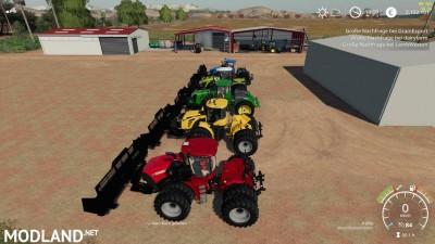 Silage Dozer Blade Tractor pack v 1.0, 2 photo