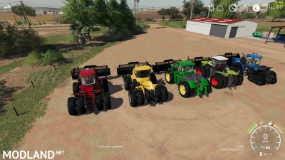 Silage Dozer Blade Tractor pack v 1.0, 5 photo