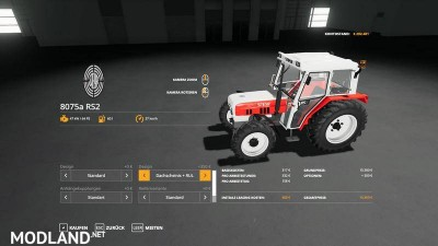 STEYR 8075 RS2 v 1.1, 5 photo