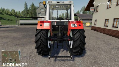 STEYR 8090a Turbo SK2 basic v 1.6, 2 photo