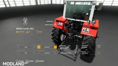 STEYR 8090a Turbo SK2 basic version v 1.5.7, 9 photo