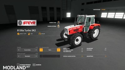 STEYR 8130a Turbo SK2 basic v 1.1, 11 photo