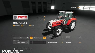 STEYR 8130a Turbo SK2 basic v 1.1, 12 photo