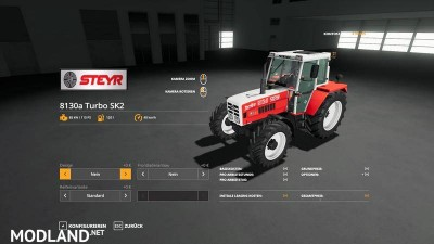 STEYR 8130a Turbo SK2 basic v 1.1, 9 photo
