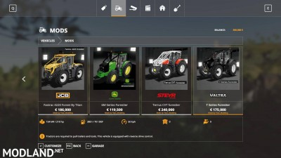 Tracteurs forestier Pack v 1.0, 3 photo
