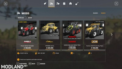 Tracteurs forestier Pack v 1.0, 1 photo
