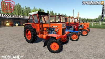 Universal UTB Old Romanian Pack Tractors v 1.0, 2 photo