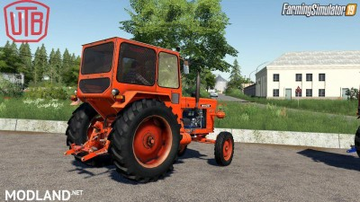 Universal UTB Old Romanian Pack Tractors v 1.0, 3 photo