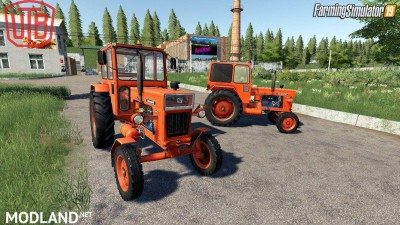 Universal UTB Old Romanian Pack Tractors v 1.0, 4 photo