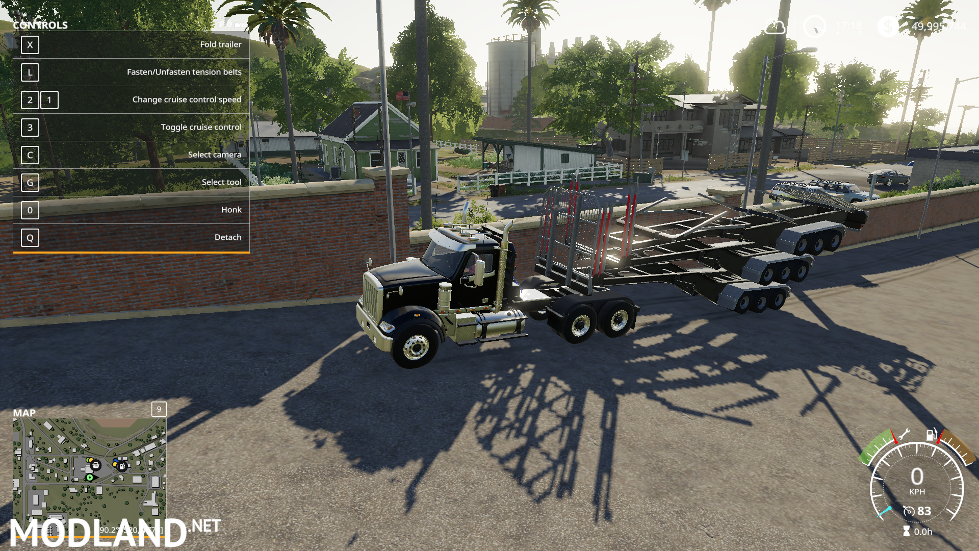 FS19 Log Trailers