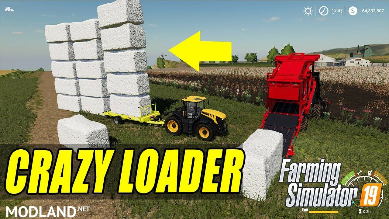 FS 19 Cotton Bale Auto Loader
