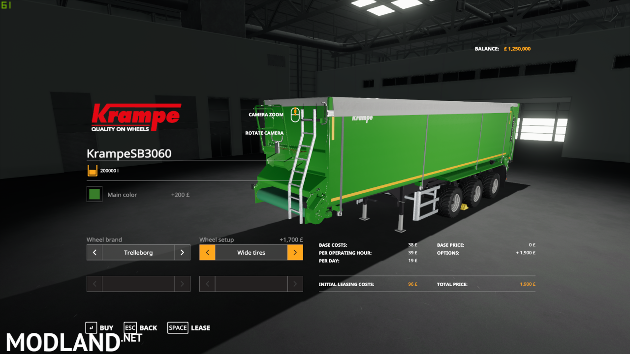 Krampe SB3060 Edit By PreditorShane