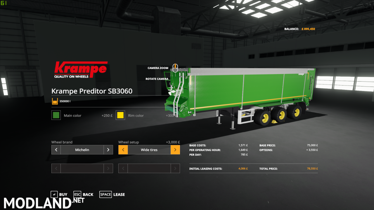 Krampe SB360 Predator Edit (Fixed)