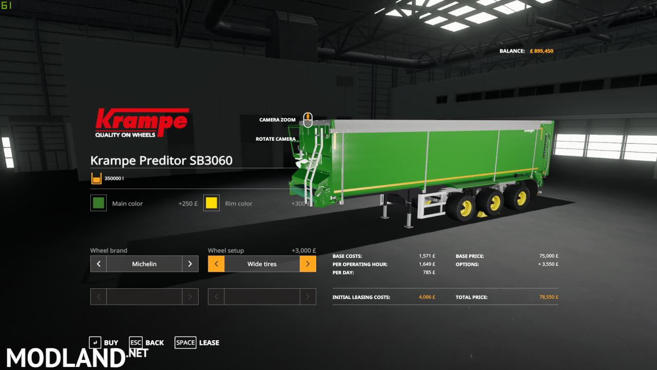 Krampe SB360 Predator Edit With 1250HP truck