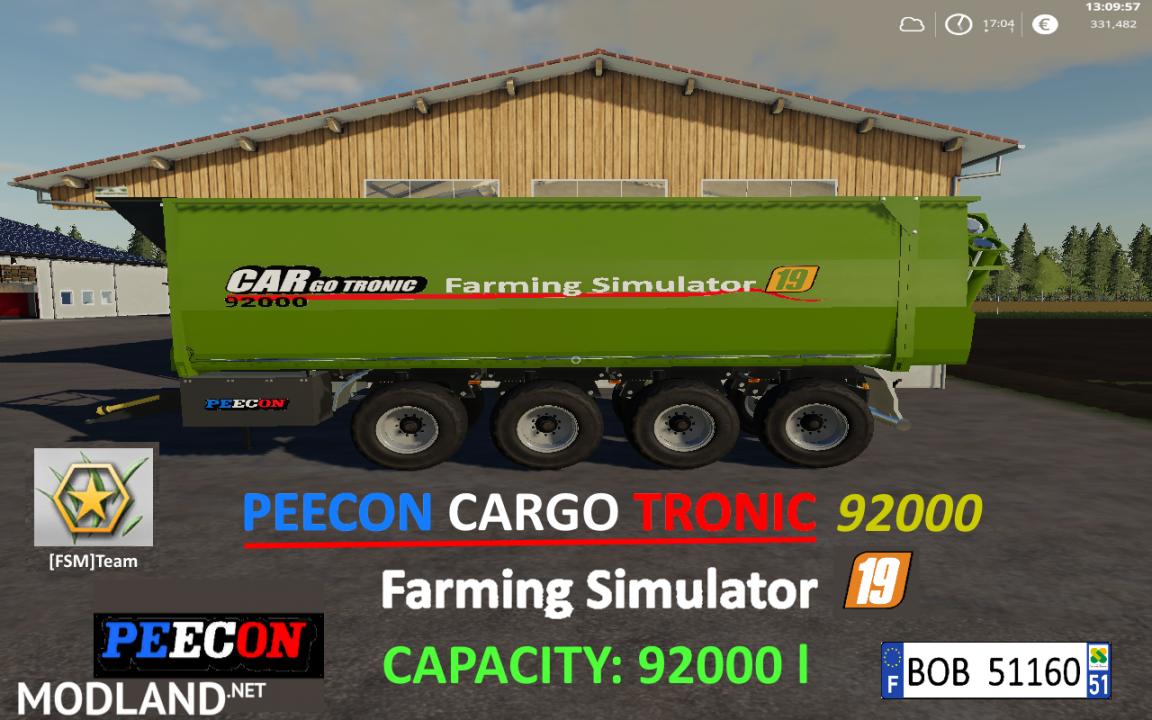 FSM PEECON CARGO92000