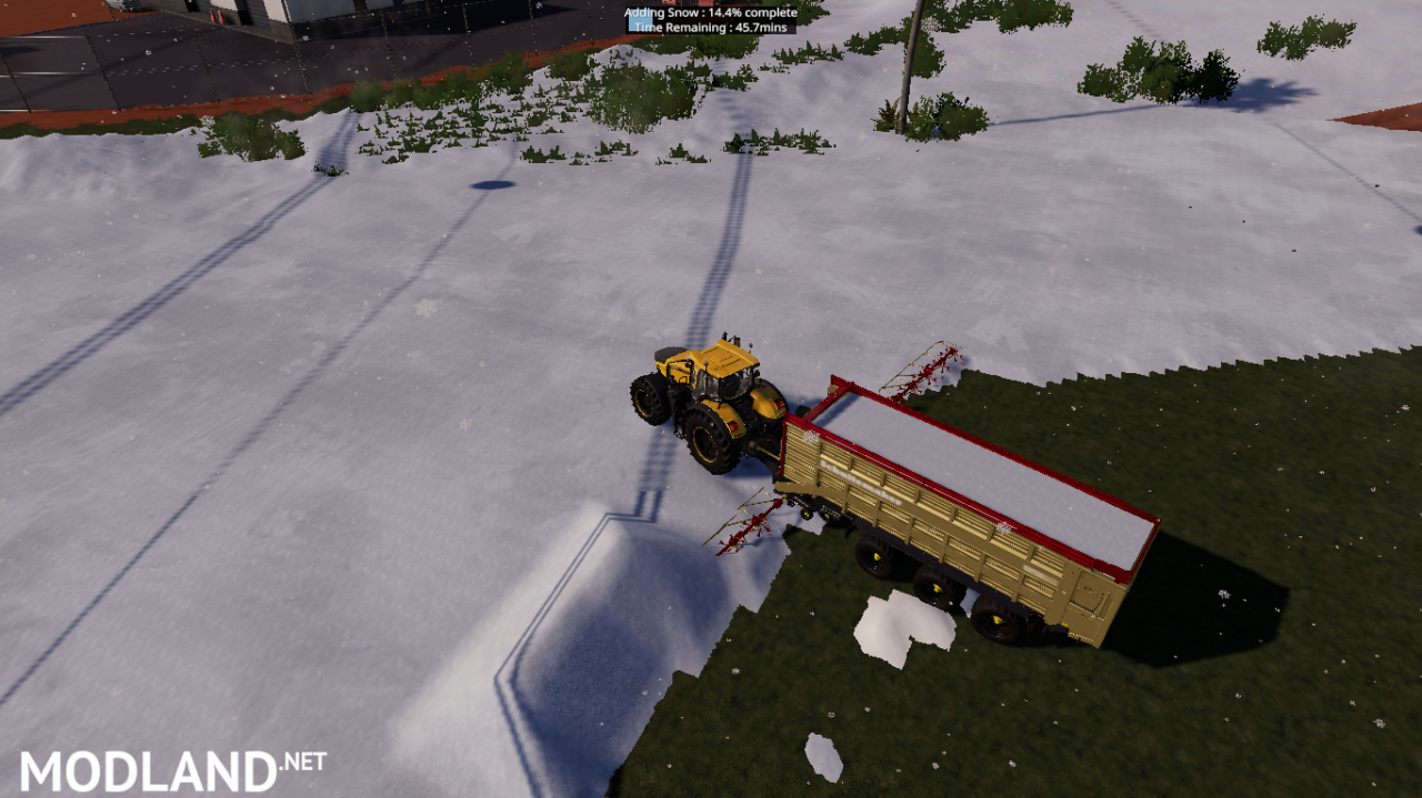 Crazy Rapide 8400 with Windrower For Snow, Salt
