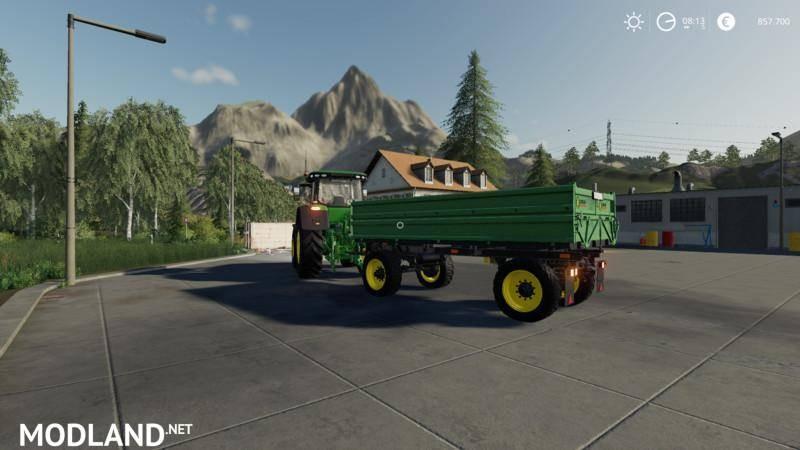 Hw 80 trailer - Contractor D.Kreller