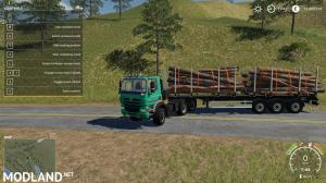 Fliegl Timber Runner With Autoload Wood v 1.0, 1 photo