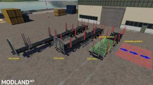 Fliegl Timber Runner Wide With Autoload Wood v 1.0, 2 photo