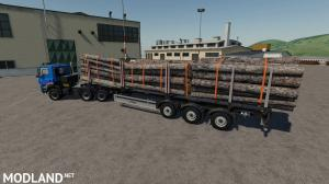 Fliegl Timber Runner Wide With Autoload Wood v 1.0, 5 photo