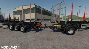 Fliegl Timber Runner Wide With Autoload Wood v 1.0, 6 photo