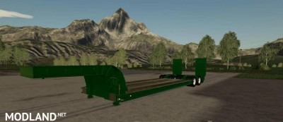 16 Wheels Low Deck Trailer v 1.0, 2 photo