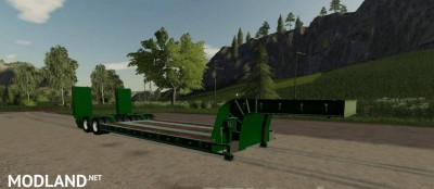 16 Wheels Low Deck Trailer v 1.0, 1 photo