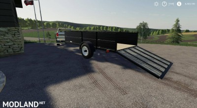 1999 Neal Manufacturing Utility trailer v 1.0, 2 photo