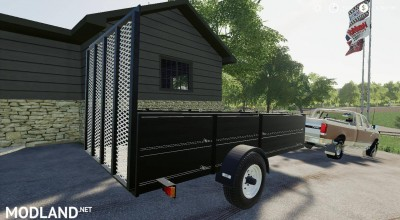 1999 Neal Manufacturing Utility trailer v 1.0, 3 photo
