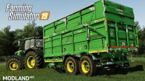 Broughan 18F Silage Trailer v 1.0, 1 photo
