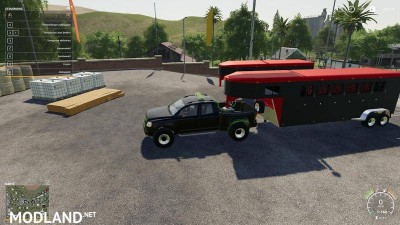 2014 Pickup with semi-trailer and autoload v 1.9, 11 photo