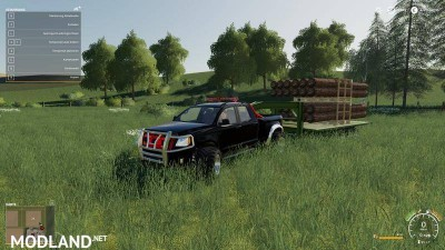 2014 Pickup with semi-trailer and autoload v 1.9, 8 photo